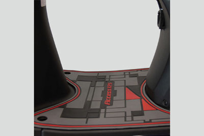 FLOOR MAT WITH LOCK