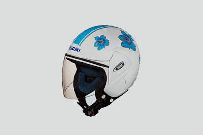 HELMET OPEN FACE FLORAL L, M, XL