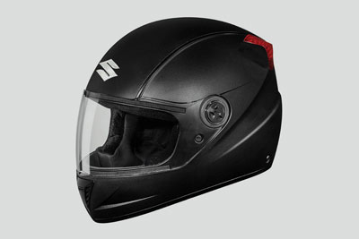 HELMET BLACK FULL FACE-M,L